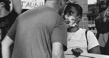 We Heart: BLM Protester Samantha Francine Stares Down Racism