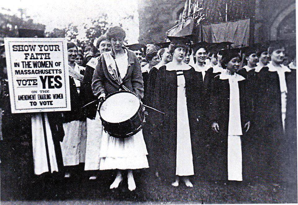 Today in Feminist History: Suffrage Stakes in the States (October 24, 1915)