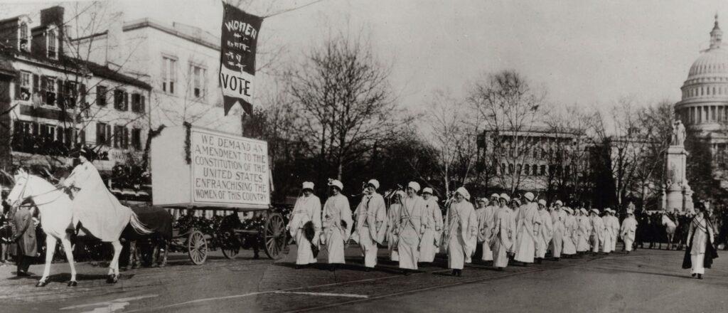 "Celebrating the Suffrage Centennial with ""The Vote"" Producer Michelle Ferrari"