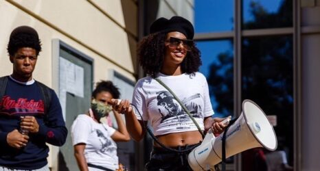 Black Lives Matter Activist Faces Five Felonies for Organizing a Protest