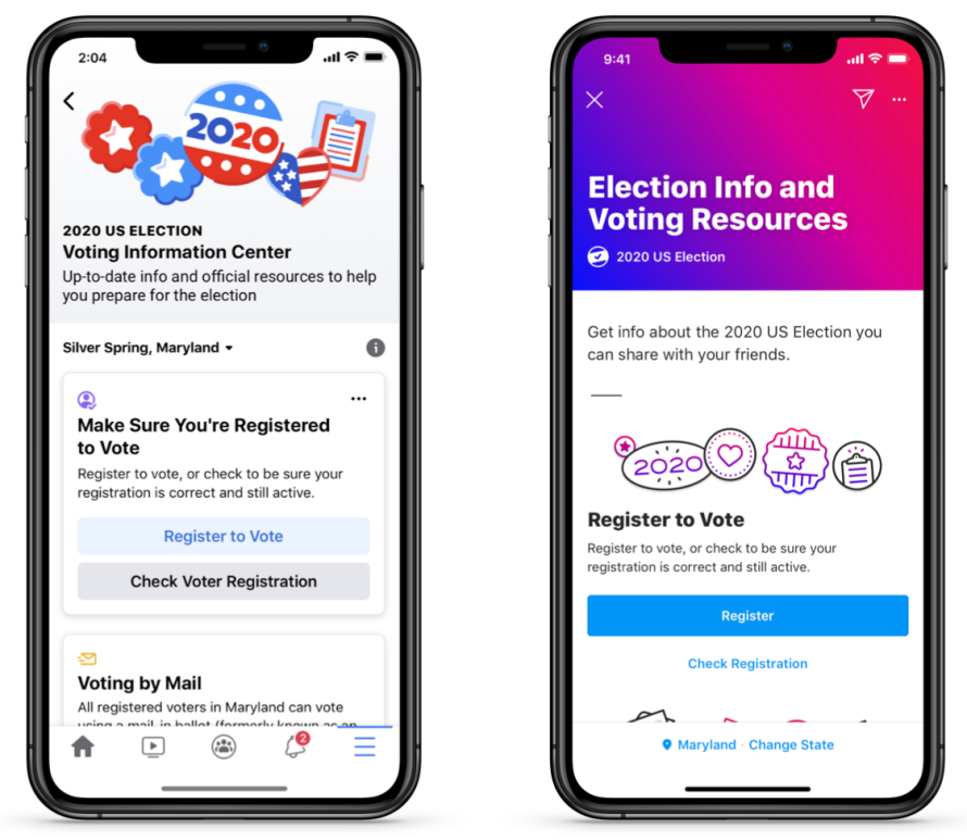 Following Criticism of Election Interference, Facebook Launches 'Voting Information Center'