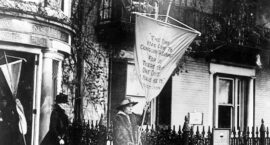 Gram Robinson, Women's Suffrage and the Women's National Press Club