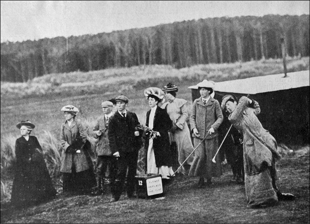 Lottie Dod at golf championship
