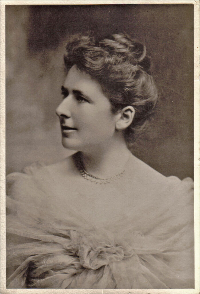 Portrait of Lottie Dod