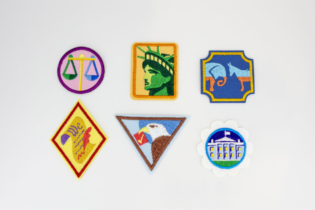 New Girl Scouts Badges Emphasize the Importance of Civic Engagement