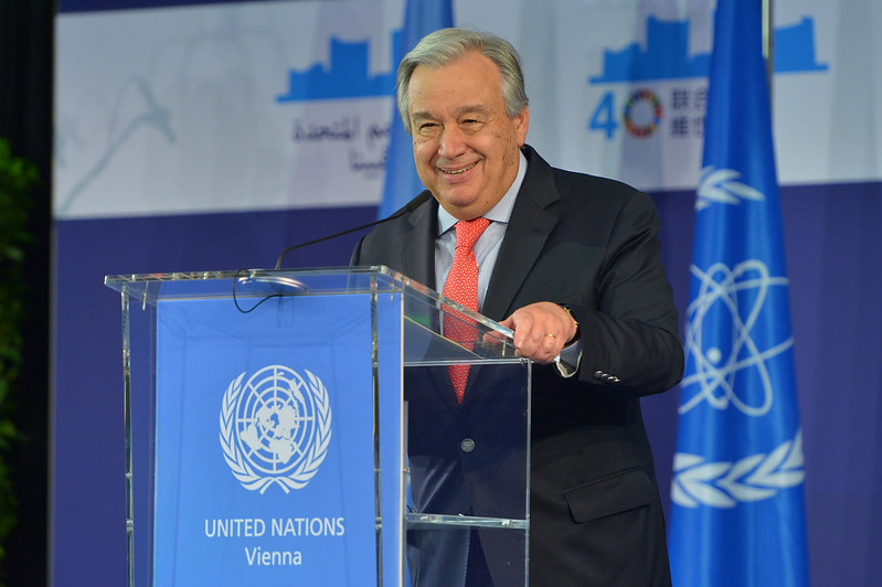 Cooperate on Climate Now or We're Doomed, UN Secretary-General Warns