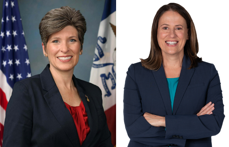 Reproductive Rights on the Line in Iowa, Joni Ernst, Theresa Greenfield