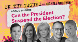 can the president suspend the elections?
