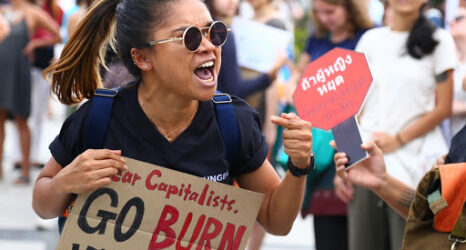 In the midst of this climate emergency, there are, of course, many who have been—and are—ringing the alarm bells. It has become increasingly evident that young people are the leaders of the swelling climate justice movement, with young women at the forefront of this work.