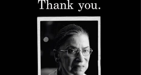 RBG ACLU Dedication