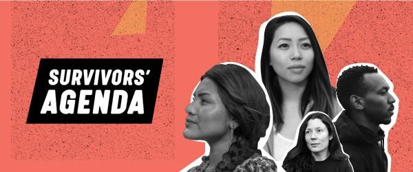 Survivors' Agenda: #MeToo Leaders Amplify Voices of Sexual Violence Survivors