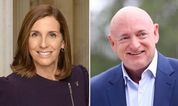 Senate women Trump martha mcsally mark kelly