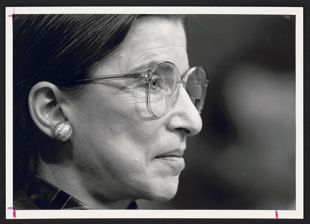 "To Ruth Bader Ginsburg: A ""Light"" in a ""Terrifying Darkness"""