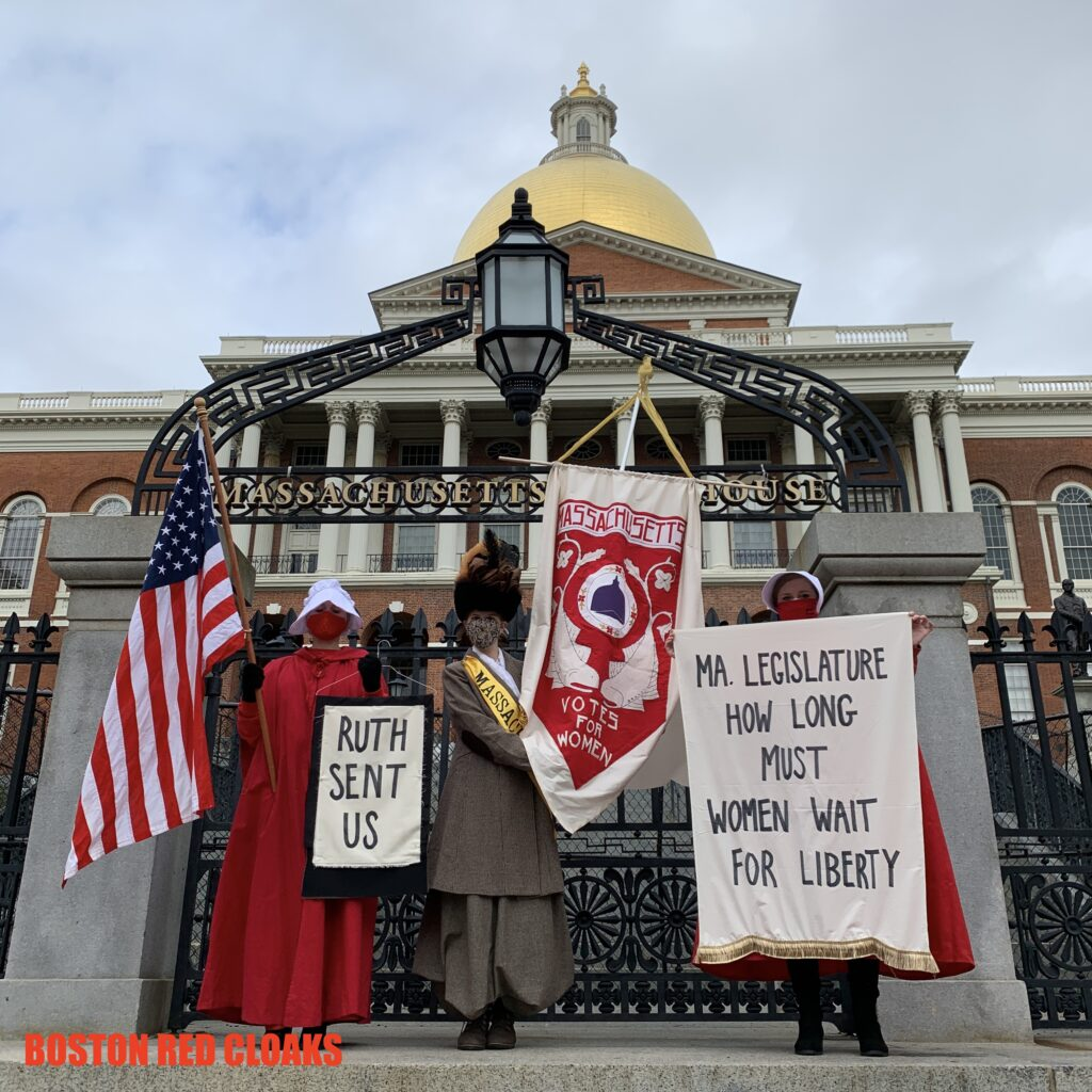 #RuthSentUs: Red Cloak National Protest Against Amy Coney Barrett Confirmation