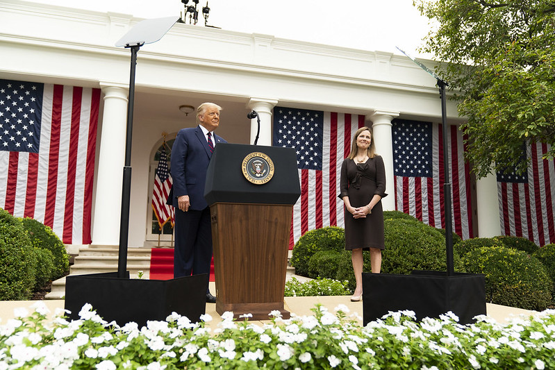 It's Her Choice: Amy Coney Barrett Can Refuse SCOTUS Confirmation