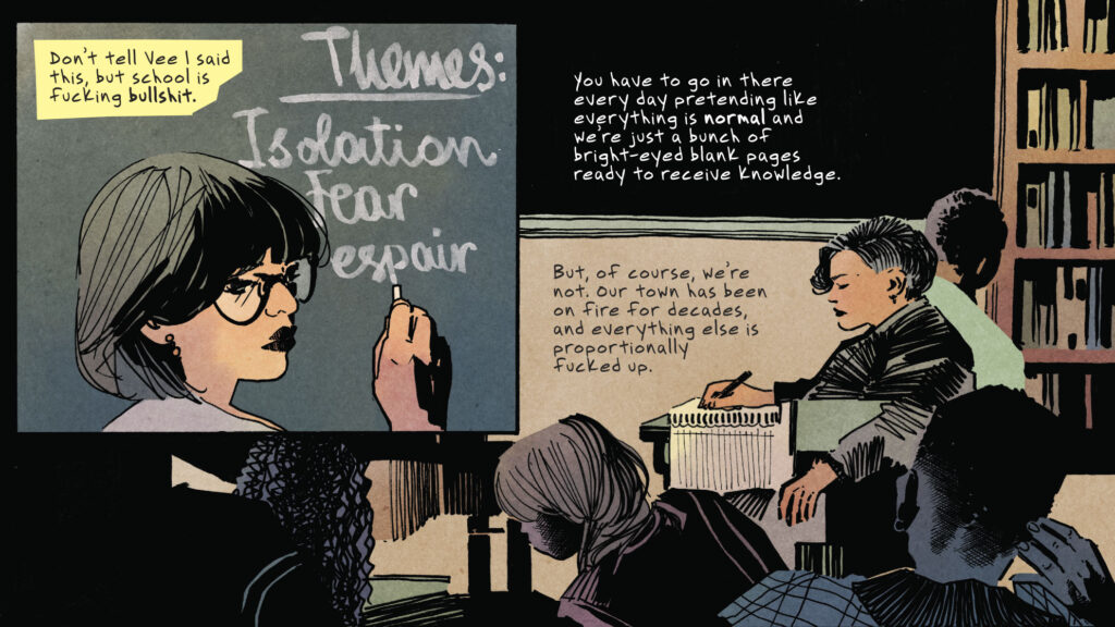 Ms. Q&A: Carmen Maria Machado and Laura Marks on Writing Feminist Heroines into Horror Graphic Novels