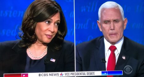 kamala harris mike pence debate