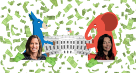 Here's Where Top Women CEOs Are Putting Their Political Dollars