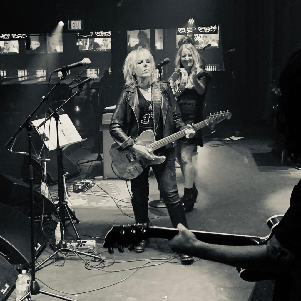 Lucinda Williams performing in Nashville on Sept. 10.