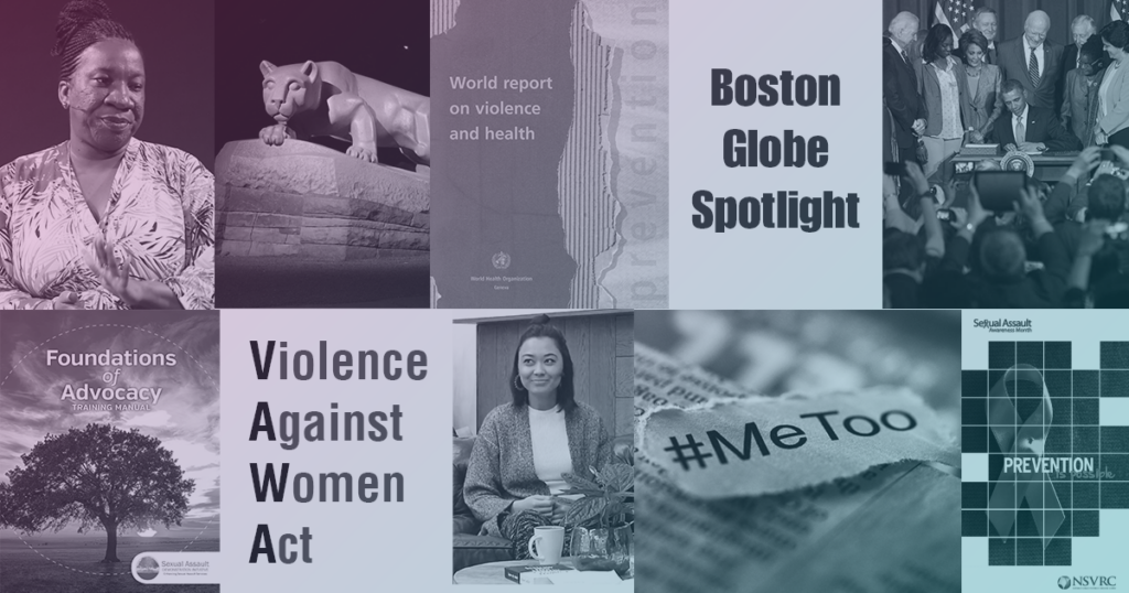 20 Events That Shaped Sexual Violence Prevention in the Last 20 Years