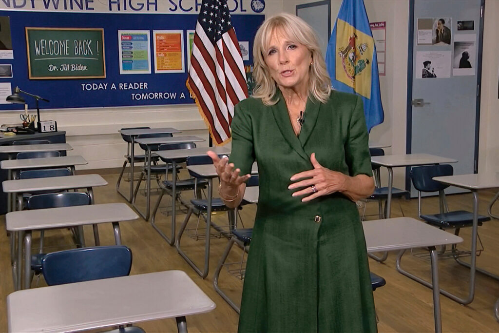 Jill Biden Will Be the First First Lady To Work Full Time