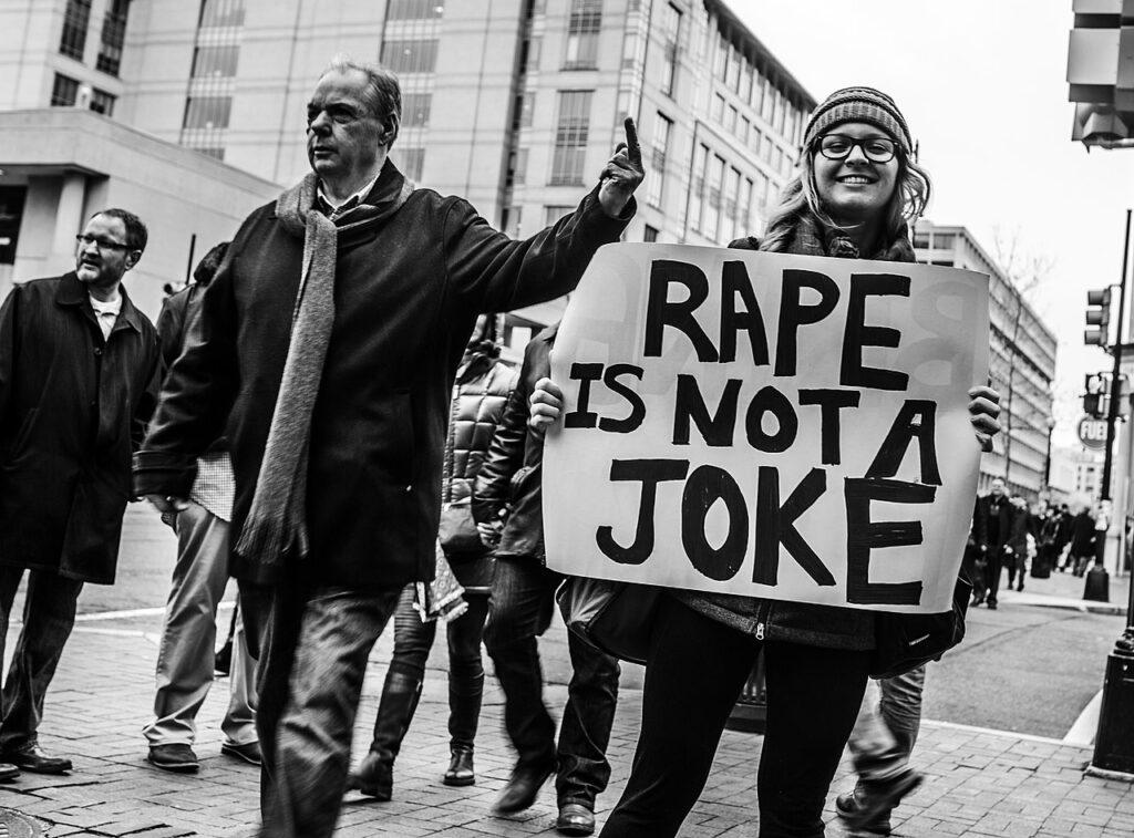 no means no trump rape culture