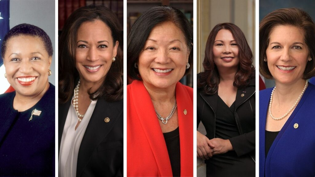 kamala harris's senate seat: As Kamala Harris Heads to the White House, Feminists Urge Gov. Newsom to Appoint a Black Woman in Her Place