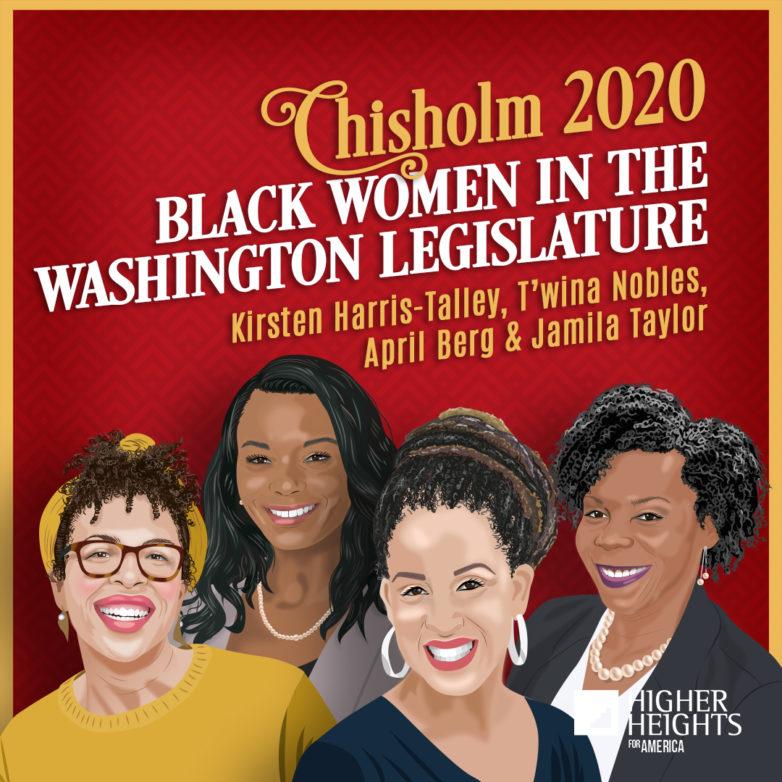 Black Women of the Washington Legislature