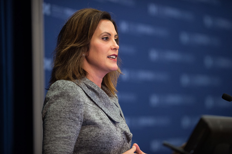Governor Gretchen Whitmer (Gerald R. Ford School of Public Policy University of Michigan / Flickr)