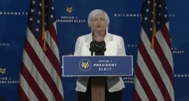 """Janet Yellen Accepts Nomination as First Woman Treasury Secretary: """"It's Essential We Move With Urgency"""""""