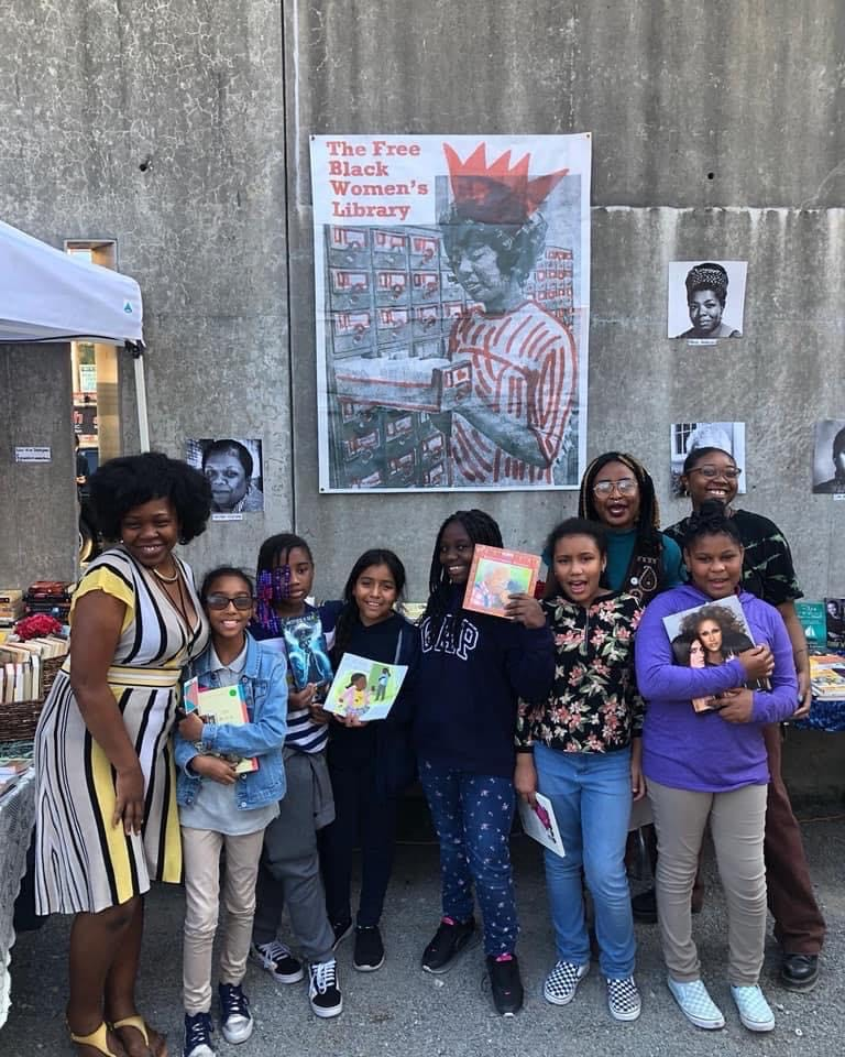 A Traveling, Pop-Up Library Holds Exclusively Books Written by Black Women