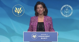 "As Commerce Secretary, Gov. Gina Raimondo Has ""a Vision for an Inclusive Recovery"""