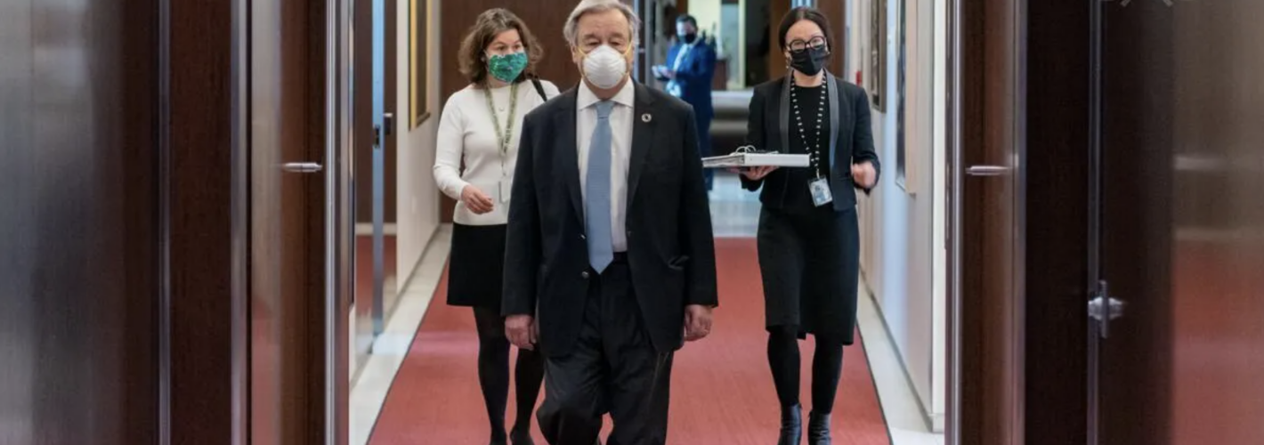 Feminists Grade UN Secretary-General Guterres With a 'B' for 2020