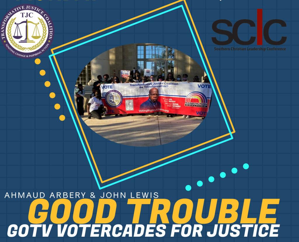 "John Lewis ""Good Trouble"" Votercades Mobilize Across Georgia in Lead-Up to Senate Runoffs"