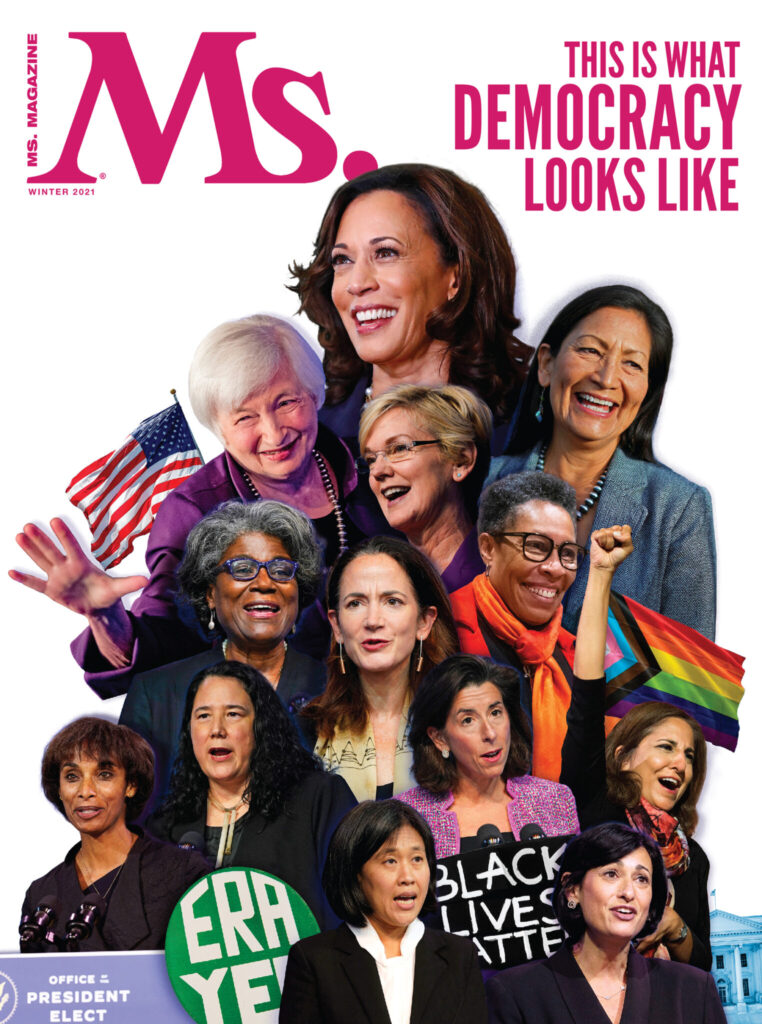 Ms. Magazine, feminist magazine, biden-harris cabinet, women on cabinet