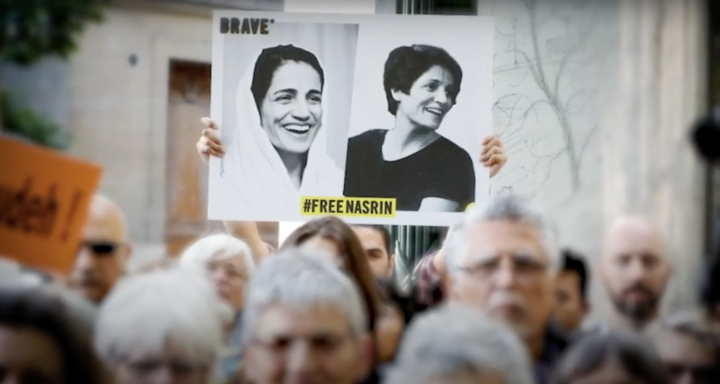 """""""Hell on Earth"""": Feminist Lawyer Nasrin Sotoudeh Returned to Iran's Qarchak Prison"""