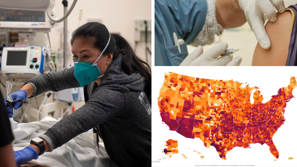 The Weekly Pulse: Hospitals Overflowing and Understaffed; Vaccine Distribution Rollout