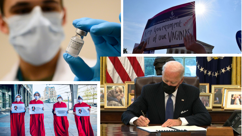 The Weekly Pulse: Tracking New COVID Strains; Biden Rescinds Global Gag Rule; Vaccine Updates
