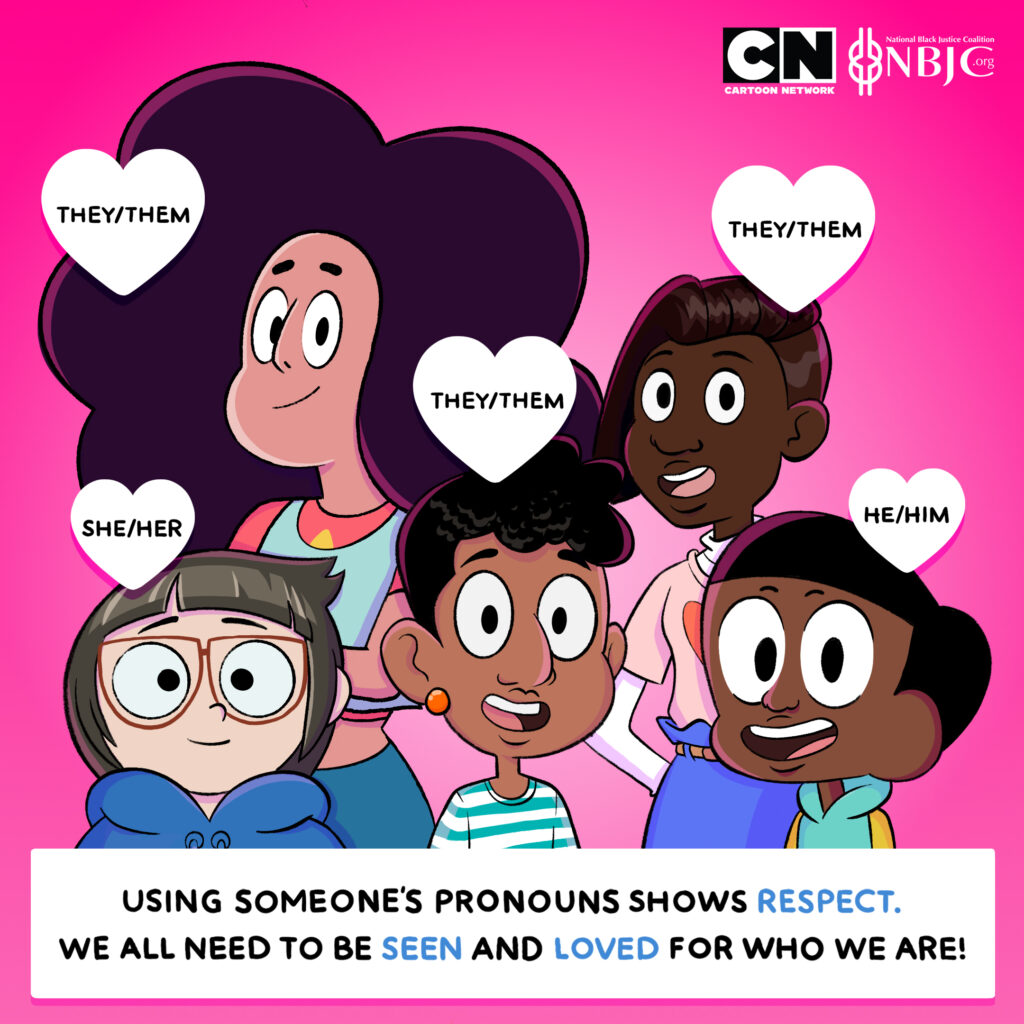 Cartoon Collab Centers Black Trans and Non-Binary Youth
