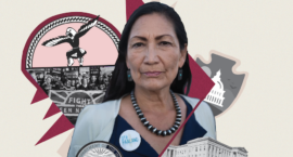 Haaland will be the first Native American to run the Department of the Interior