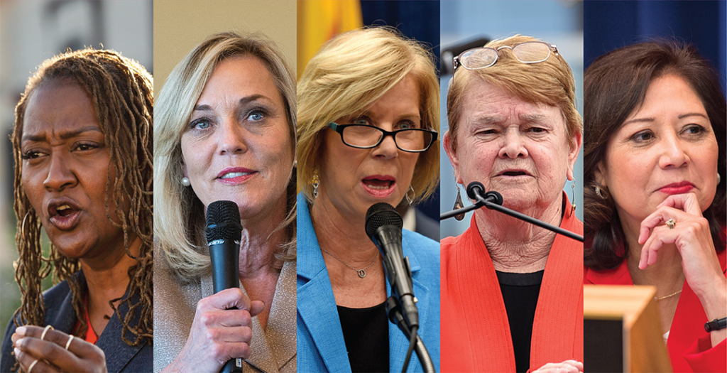The Fab Five: Shattering L.A. County's Glass Ceiling