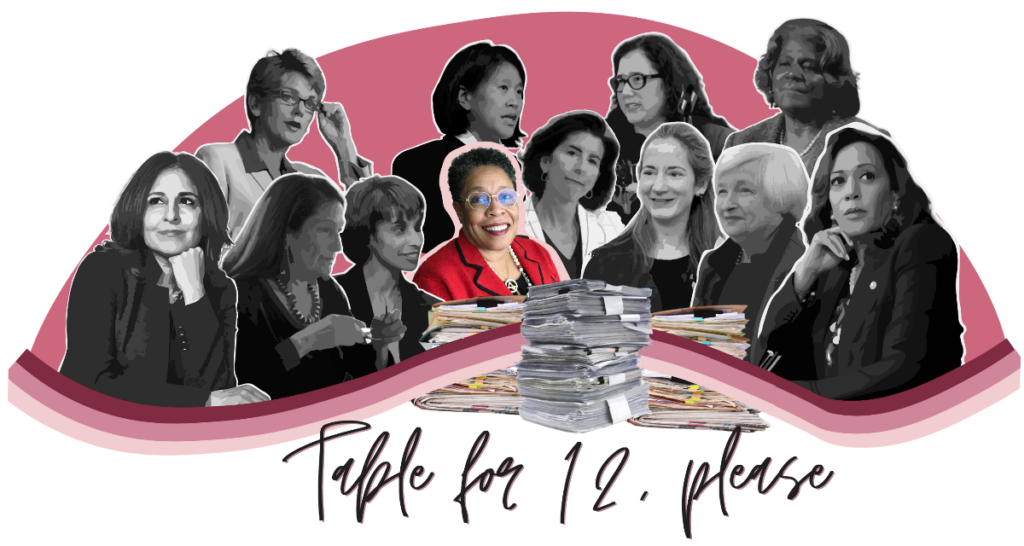 Table for 12, Please: HUD Secretary Marcia Fudge