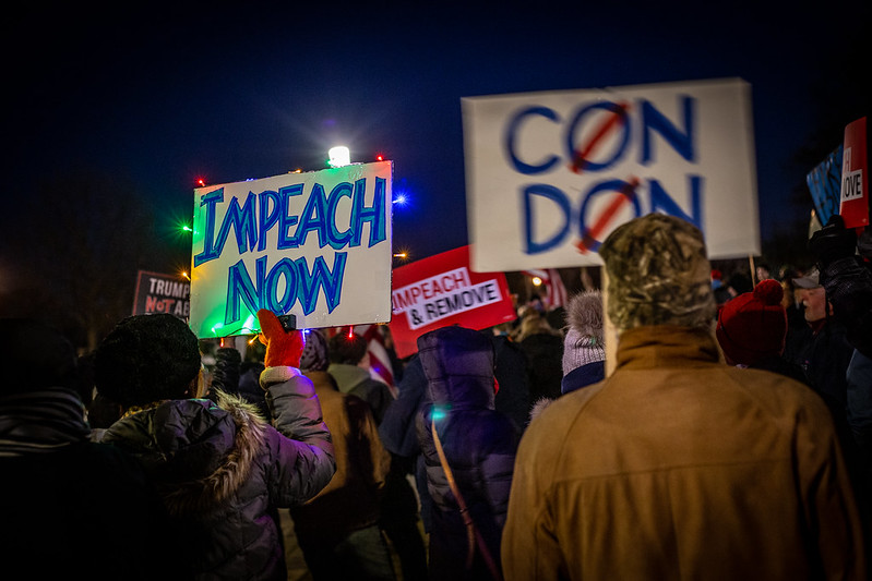 The Constitution Supports the Impeachment of Trump and Disqualification From Office