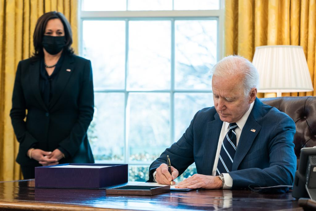 """The Ms. Must-Read: Biden Delivers Hope With """"Transformative, Historic"""" American Rescue Plan"""