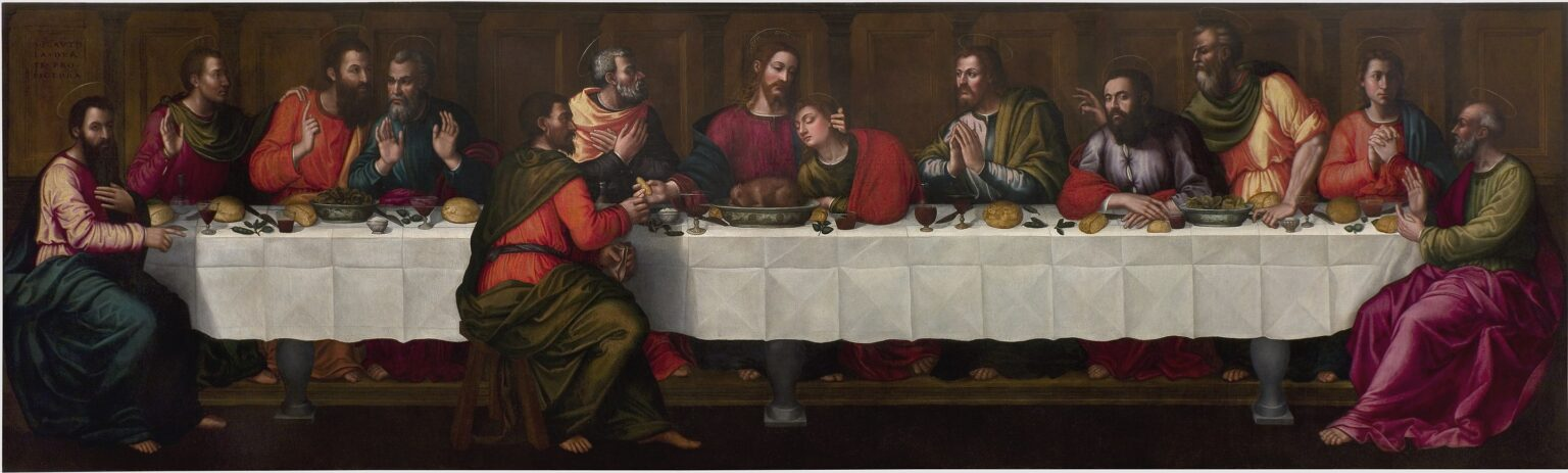 The Teenage Nun Who Painted the Last Supper