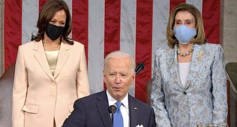 """Madam Speaker. Madam Vice President."": Feminists React to Biden's Historic Joint Address"