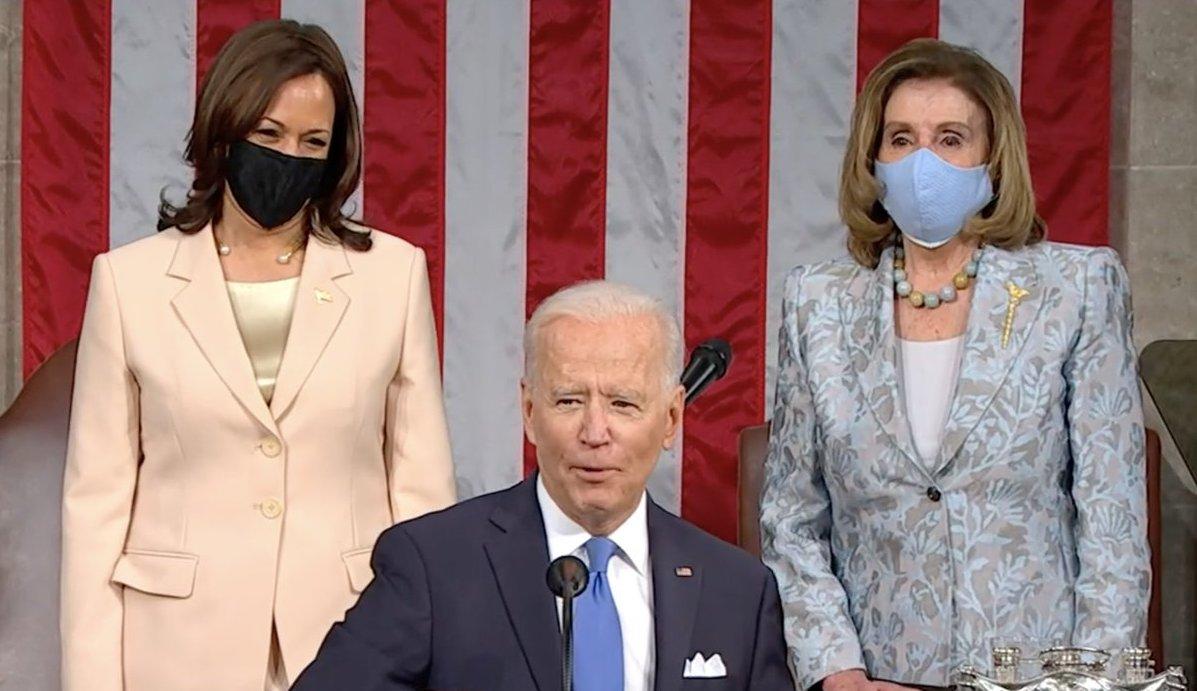 "msmagazine.com: ""Madam Speaker. Madam Vice President"": Feminists React to Biden's Historic Joint Address"