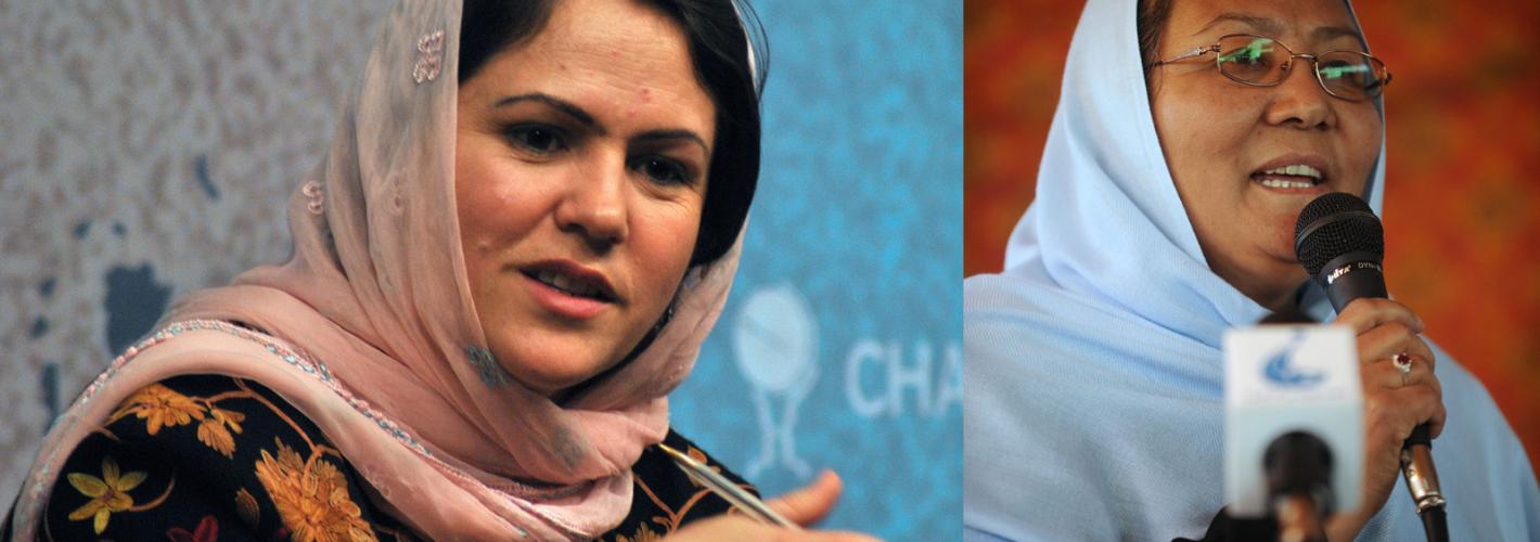 "Afghan Women Negotiators Warn of ""State Collapse"" Should the U.S. Leave Too Soon"