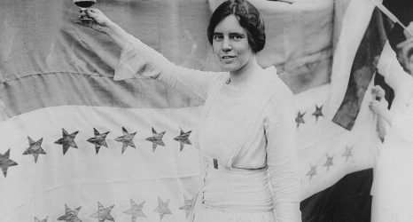 Alice Paul. (Wikimedia Commons)