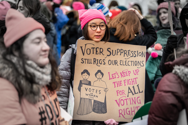 At A Turning Point for Voting Rights, Direction Signals Point Both Ways